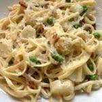 Spargel-Pasta italienisch