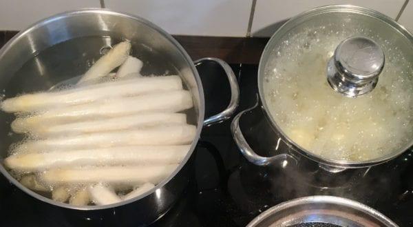 spargel und kartoffeln kochen
